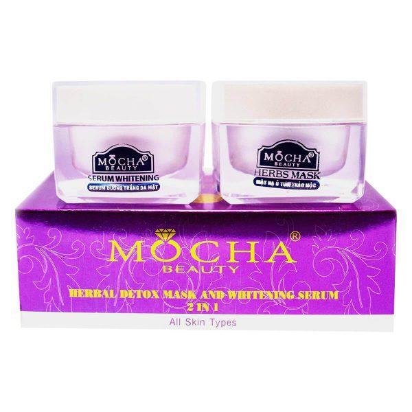 Bộ Ủ Tươi Sữa Dê Thảo Mộc Mocha Beauty (60g)