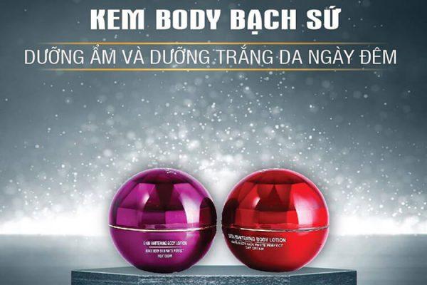 Kem Body Bạch Sứ Mocha Beauty (300g)