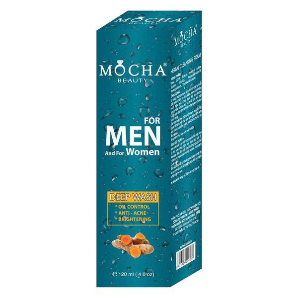Sữa Rửa Mặt Nghệ Nano Mocha Beauty (120ml)