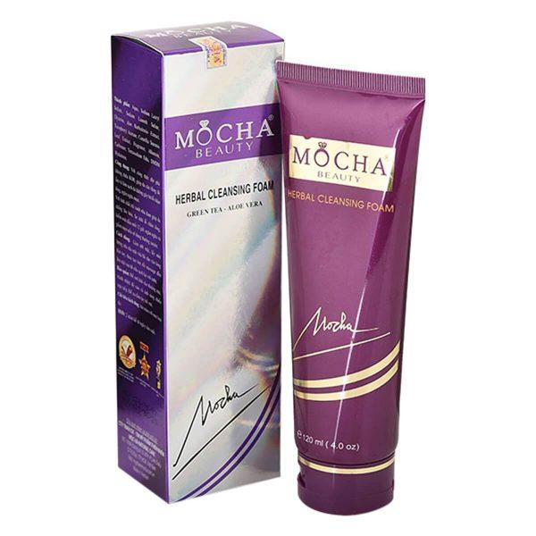 Sữa Rửa Mặt Tinh Chất Trà Xanh Mocha Beauty (120ml)