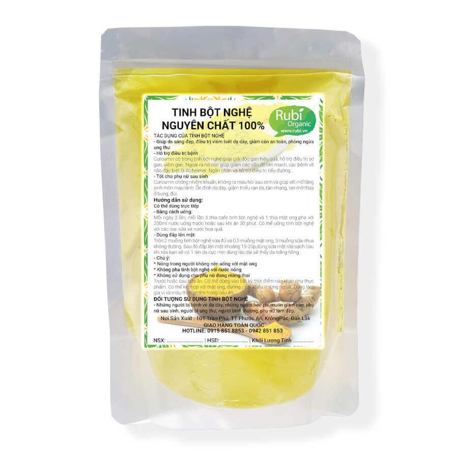 Tinh Bôt Nghệ Rubi Organic Food